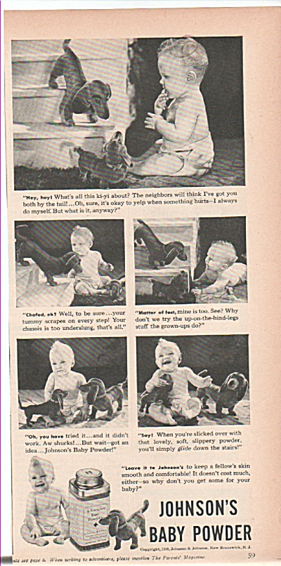 Johnson' baby powder ad 1939 (Image1)
