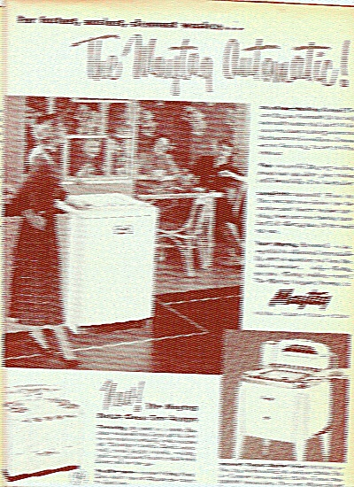 Maytag dish washer and clothes washer ad 1951 (Image1)