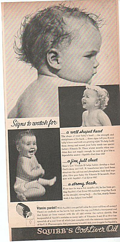 Squibb's cod liver oil ad 1939 (Image1)