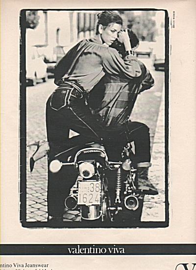 Valentino viva jeanswear ad 1979 (Image1)