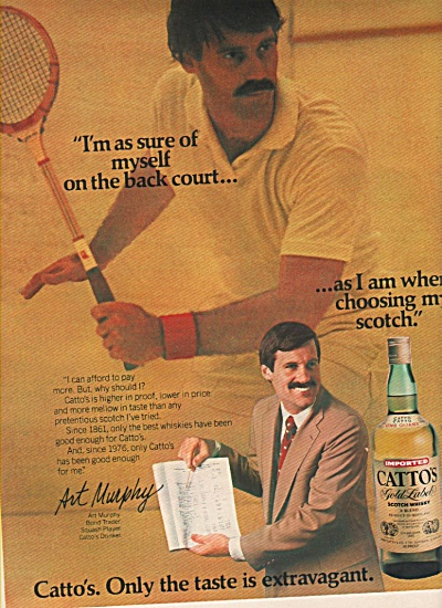Catto's gold label scotch whisky ad 1979 (Image1)
