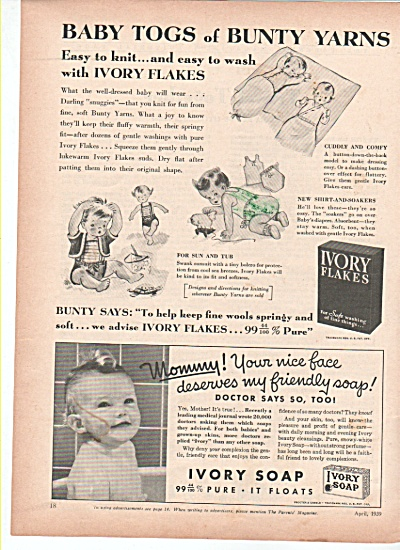 Ivory flakes and Ivory soap ad 1939 (Image1)