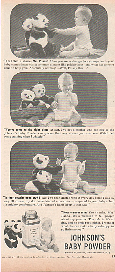 Johnson's baby powder ad  1939 (Image1)