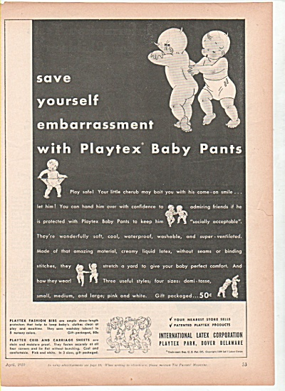 International latex corporation -ad 1939 (Image1)