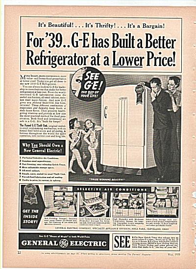 General Electric refrigerator - 1939 (Image1)