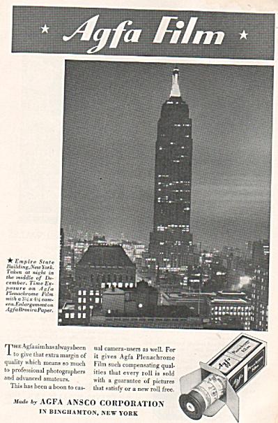 Agfa film ad (Image1)