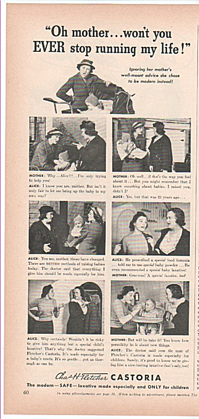 Castoria laxative ad 1939 (Image1)