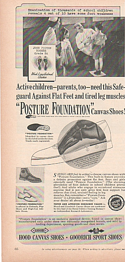 Hood canvas shooes - Goodrich sport shoes ad (Image1)