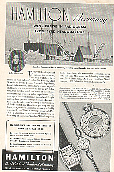 Hamilton  watches ad (Image1)