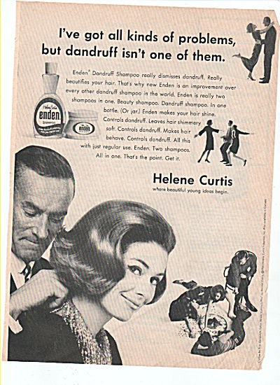 Helene Curtis ad 1966 (Image1)