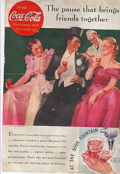 Coca Cola ad  - 1935 (Image1)