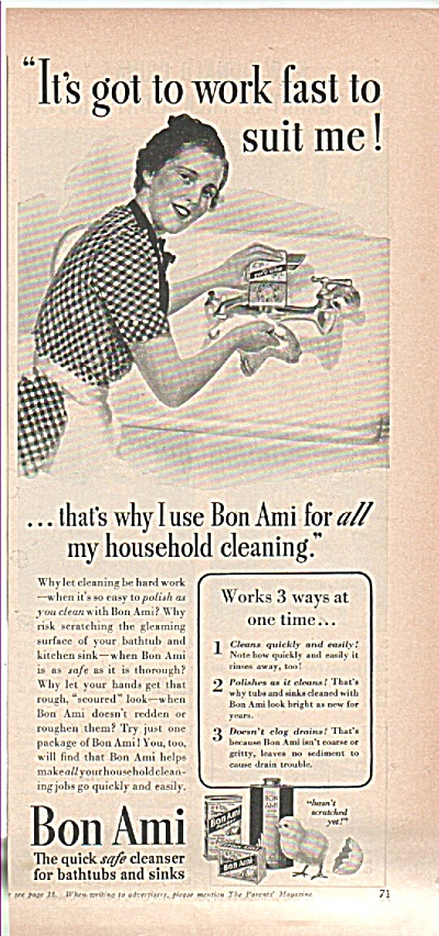 Bon Ami cleanser ad 1939 (Image1)