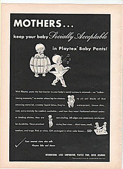 Playtex baby pants ad 1939 (Image1)