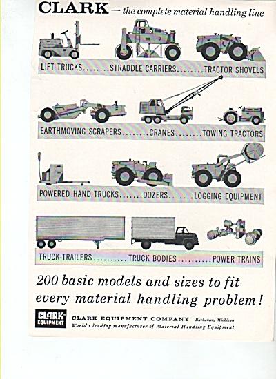 Clark Equipment Company ad (Image1)