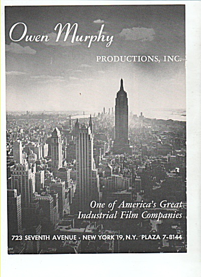 Owen Murphy productions Inc. 1948 (Image1)