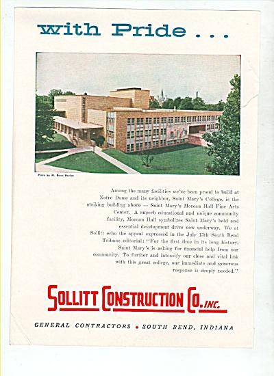 Sollitt construction Co., Inc. ad 1958 (Image1)
