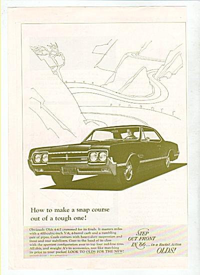 Oldsmobile In 66 Ad