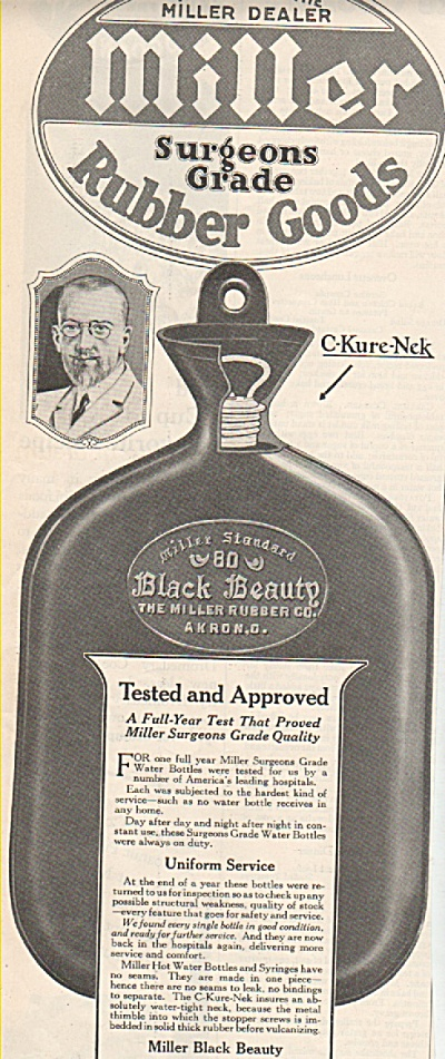 Miller surgeons grade rubber goods ad 1919 (Image1)