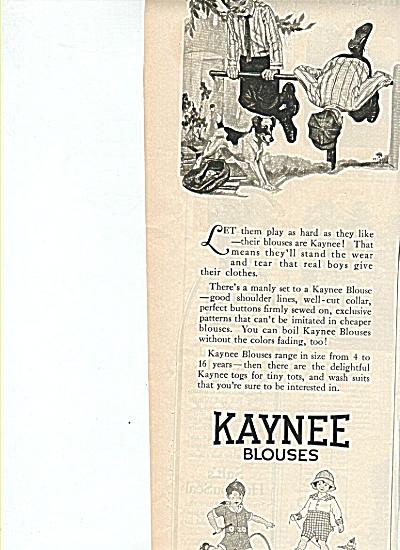 Kaynee blouses ad 1919 (Image1)