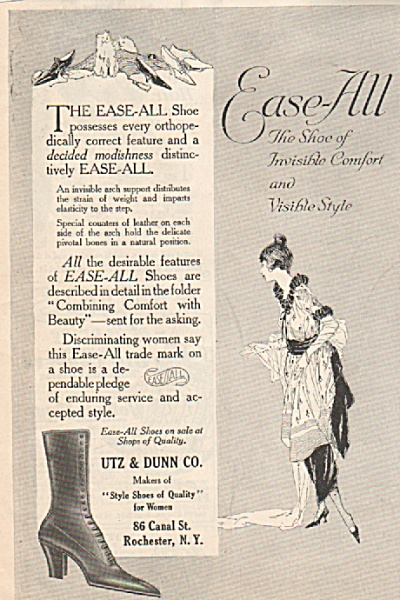 Ease All shoes ad 1919 (Image1)