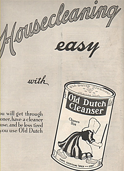 Old  Dutch Cleanser ad 1919 (Image1)