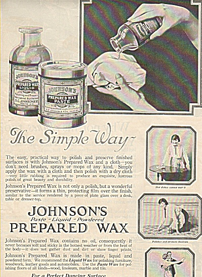 Johnson' s prepared wax ad 1919 (Image1)