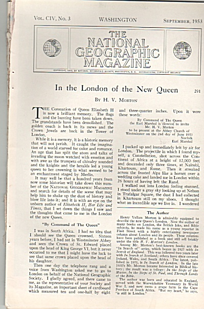 In the London of the New Queen story - 1953 (Image1)