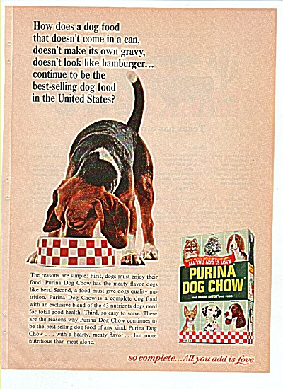 Purina Dog Chow ad 1966 (Image1)