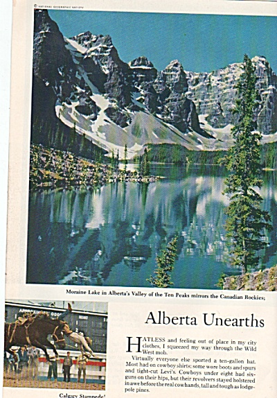 ALBERTA, CANADA, story & pictures  1960 (Image1)