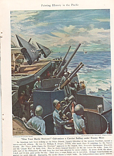Painting History in the Pacific in WWII  - 1944 (Image1)