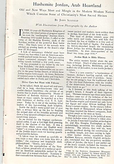 Hashemite JORDAN, aRAB Heartland story 1952 (Image1)