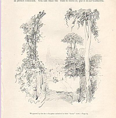 Artist:  CHARLES HUARD sketches - 1917 (Image1)