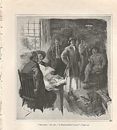 Artist drawings:  W. M. BERGER  1917 (Image1)