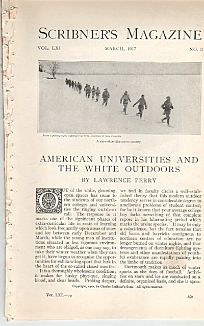 American Universities and the while outdoors story (Image1)