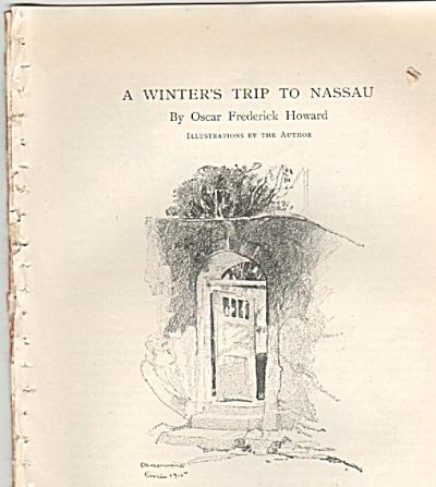 A Winter's trip to Nassau - OSCAR FREDERICK HOWARD (Image1)