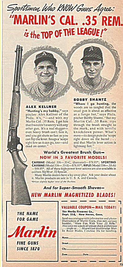 Marlin fine guns since 1870 ad 1952 (Image1)