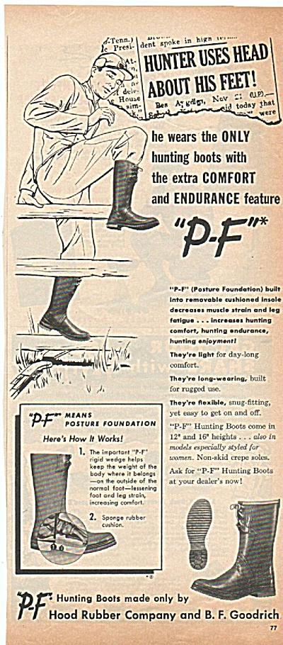 Hood Rubber boots aqd 1952 (Image1)