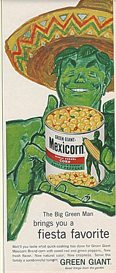 Jolly Green giant corn ad 1960 (Image1)