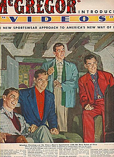 McGregor sportswear ad 1951 (Image1)