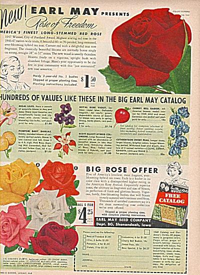 Earl May seed company ad 1949 (Image1)