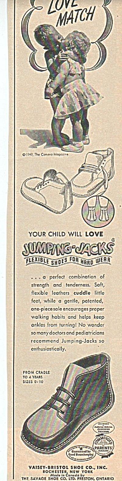 Vaisey-Bristol shoe co., -Love match- ad 1949 (Image1)