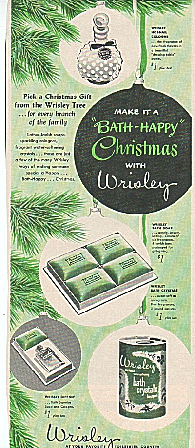 Wrisley toiletries ad 1949 (Image1)