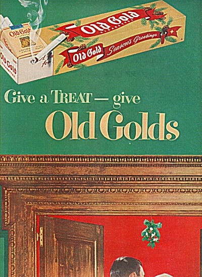 Old Golds cigarettes ad 1949 (Image1)