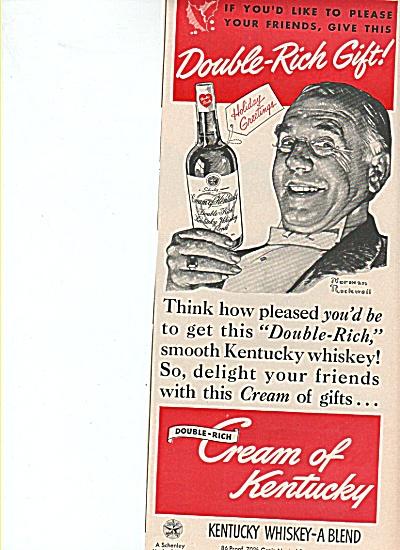 Cream of Kentucky whiskey ad 1949 (Image1)