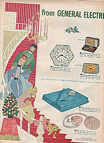 General electric gifts ad 1960 (Image1)