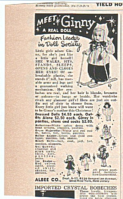 Meet Ginny doll ad  1956 (Image1)