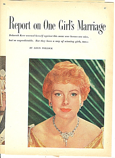 Story - DEBORAH KERR - 1952 (Image1)