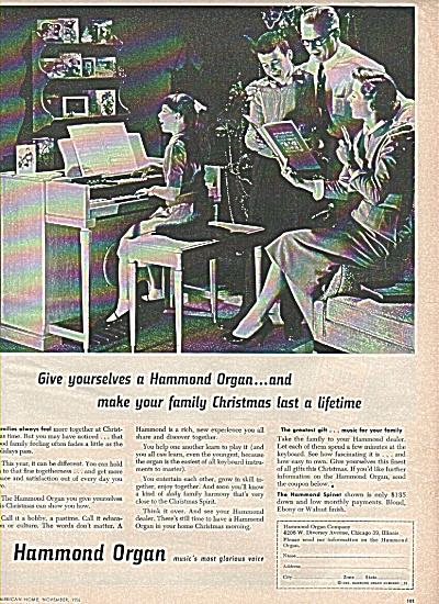 Hammond Organ ad 1956 (Image1)