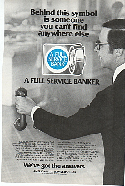 A full service bank ad 1980 (Image1)