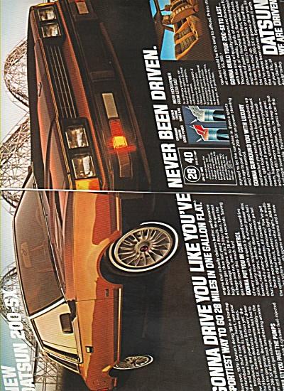 Datsun automobile  ad  - 1980 (Image1)